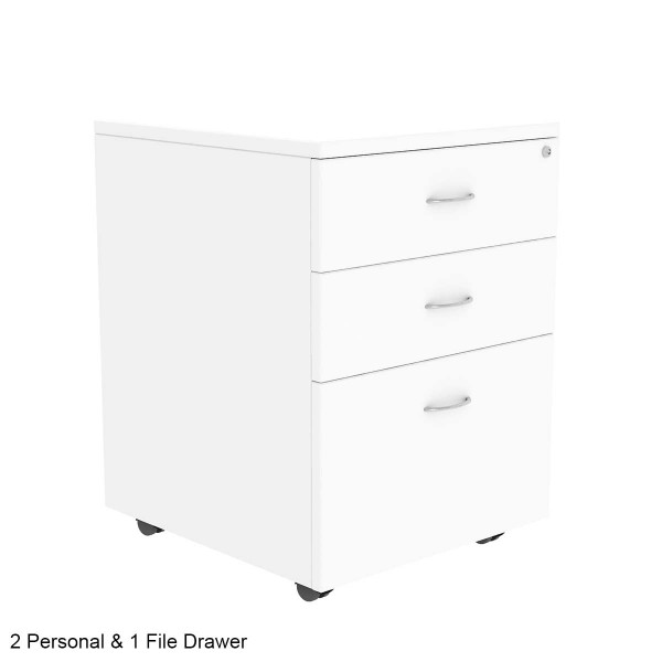 Mobile Pedestal Office Filing Storage Drawers