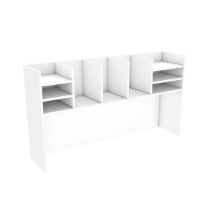 Office Caddy Hutch Storage Filing Shelves Universal Fit 1800mm Length *Special Clearance Price*