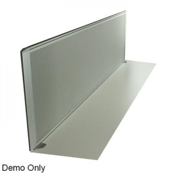 Desk Mount Fabric Screens with Aluminimum Frames