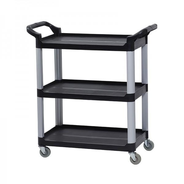 Compact 3 Shelf Utility Universal Use Cart Trolley