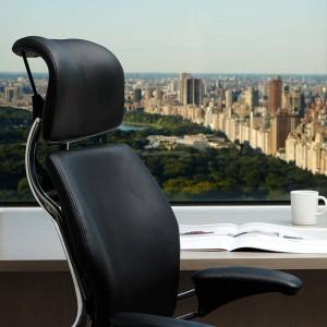 Humanscale Freedom Premium Leather Ergonomic Executive Office Chair