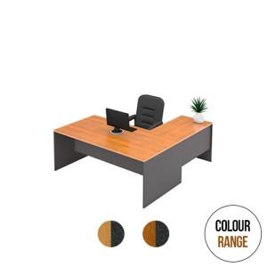 Origo Straight Office Desk and Return