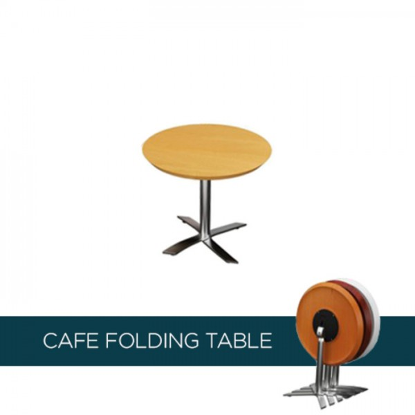 Reno Flip Top Meeting Cafe Table - Round
