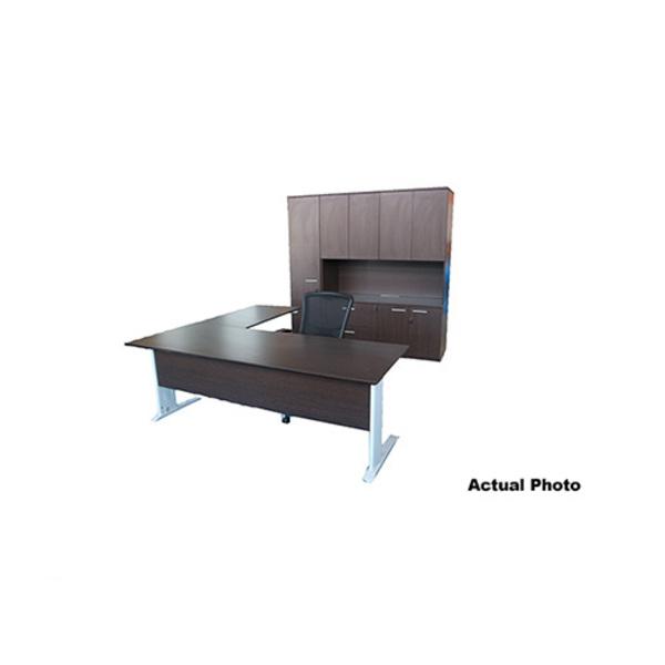 Ambassador Collection: President Executive Office Setting Desk & Storage