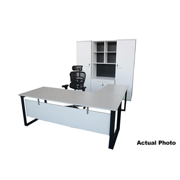 Ambassador Collection: Commissioner Executive Office Setting Desk & Optional Storage