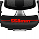 Wider Seat -558mm ( Pre-order Today Arrival Dec 2021 )  + $197.00