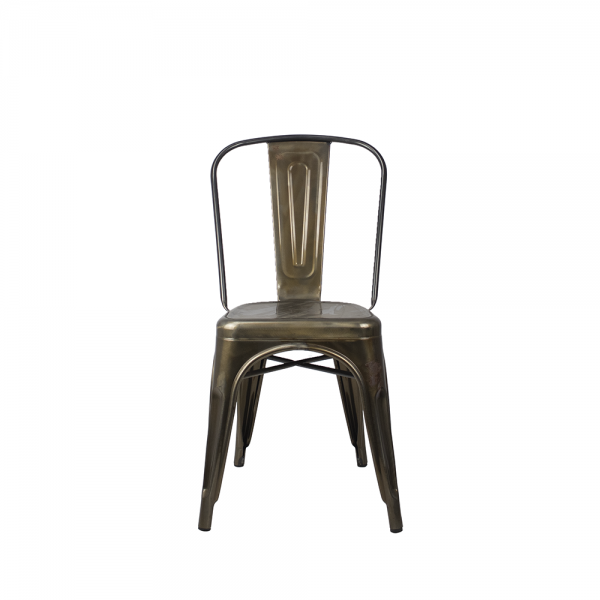 Metal Tolix Reproduction Chair High Back Cafe Visitor Chairs *SPECIAL PRICE*