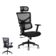 X Mesh Chair Basic Ergonomic Task Office Chair Auto Dynamic Variable Lumber System & Optional Headrest