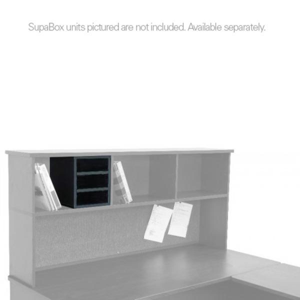 Supa Staka Single Stack Storage Shelving (Inc. Base) Hutch Style Hob