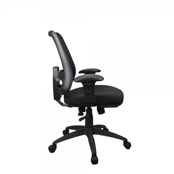 WORKX Series Ergonomic Mesh Posture Back Office Task Chair Optional Arms