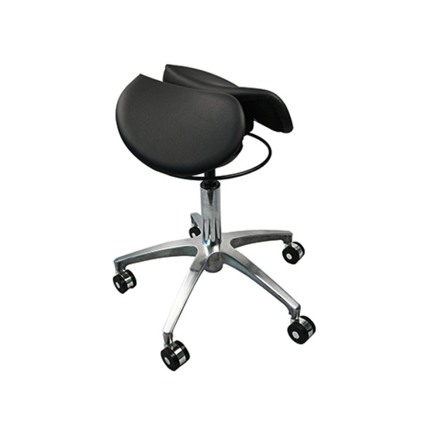 Saddle Seat Gas Lift Stool with Ergonomic Sway Rocking Seat Action System