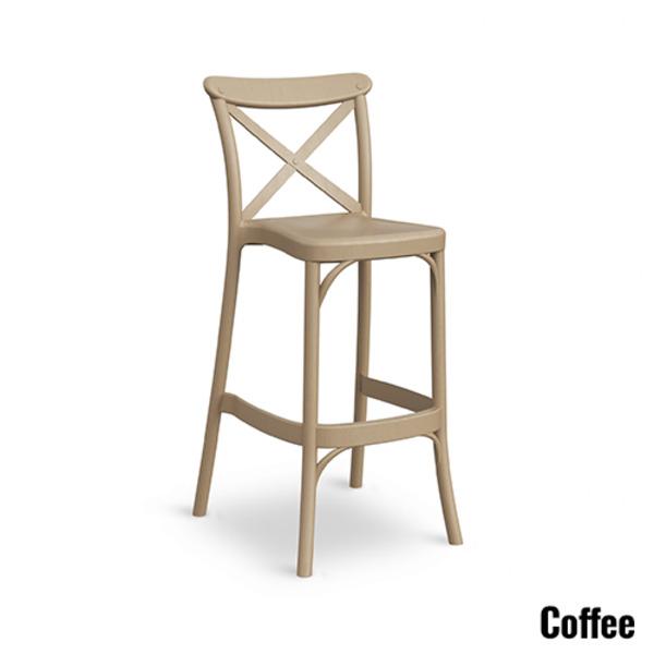 Capri Bar Stool Chair Hospitality Cafe Commercial Stool 750mm