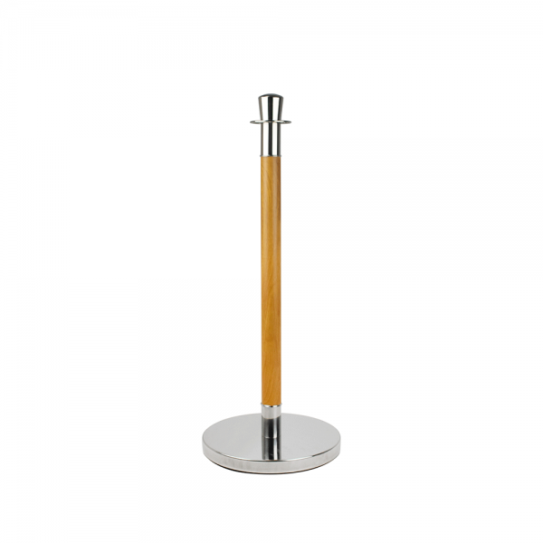 Executive Aspen Queue Pole Stanchion Stand Barrier Crowd Control Post Optional Rope