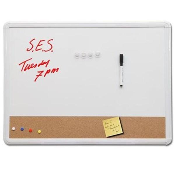 Classic Combo Board Magnetic Whiteboard & Cork Board *Special Deal*