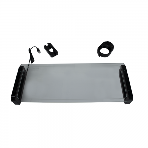 Monitor Stand Riser U-Board Smart Ergonomic Notebook Features 3 x USB Port, Tempered Glass, Cup / Business Card and Mobile Phone Holder