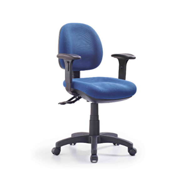Express P350 Blue Medium Back Fully Ergonomic Office Chair - AFRDI 6 Approved