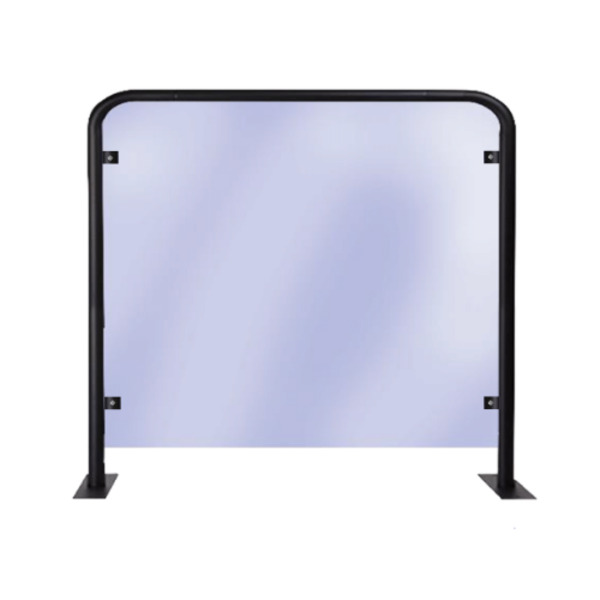 Sneeze & Cough Table Segregation Screens Strong Protection Barriers Free standing Mobile