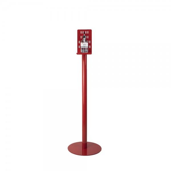 Sani Stand Hand Sanitiser Station Sturdy Metal - Single Bottle Stand - Australian Made