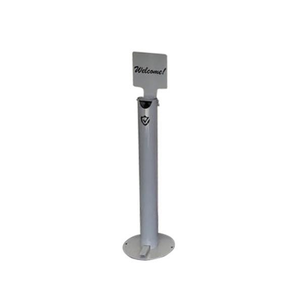 Aluminium Sterling Shield Hand Sanitiser Dispenser 100% Mechanical Zero Touch | Australian Made