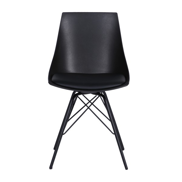 Zulia Office Visitor Cafe Breakout Area Chair Black