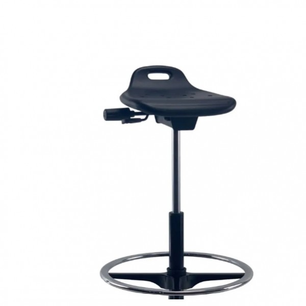 Ergo Sit Stand Stool Drafting Foot Ring Laboratory Technician Medical Health Vaccine Chair