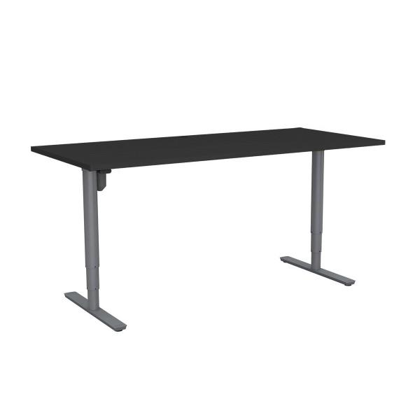 Rivoli 501-49 Sit-Stand Height Adjustable Desk Frame Heavy Duty 100kg Rated Optional Black Top & Frame Colours