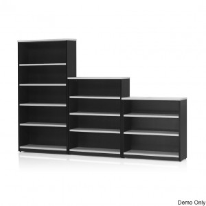 Origo Bookcase Shelving Storage Unit Adjustable Shelves - 900mm High