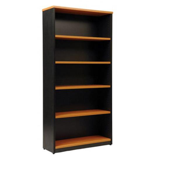 Origo Bookcase Shelving Storage Unit Adjustable Shelves - 1800mm High