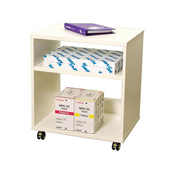 Mobile Printer Trolley Storage Cabinet Shelf