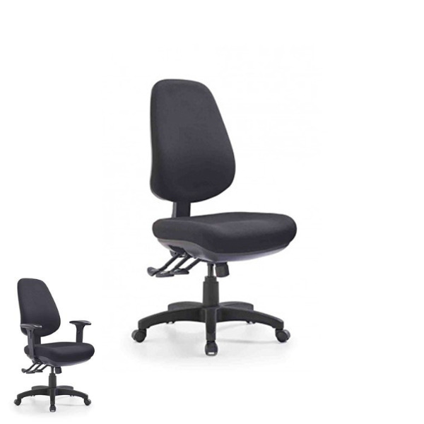 Express TR600 Deluxe Fully Ergonomic Task Chair Large Comfort Cell Seat 150kg Heavy Duty