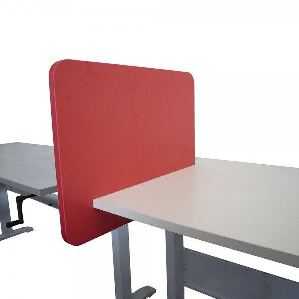 Desk Divider Screen Slide On Partition Movable Barrier