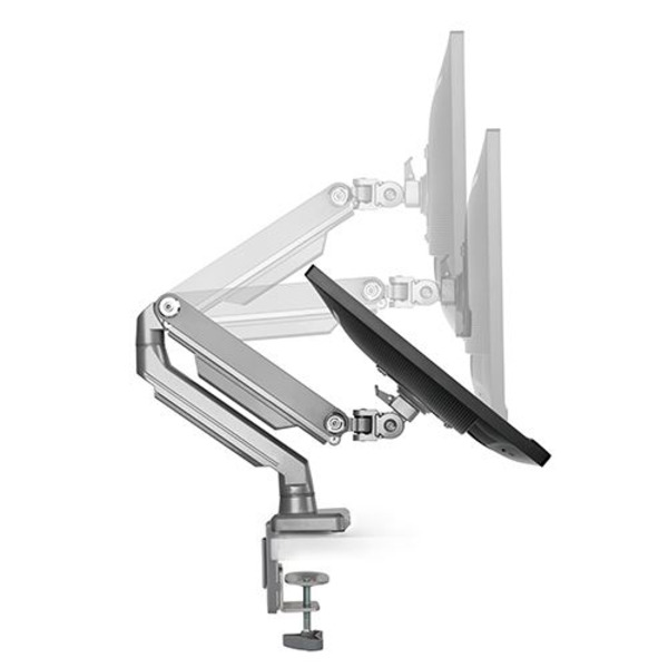 Desk Mount Single Monitor Arm - Mechanical Spring