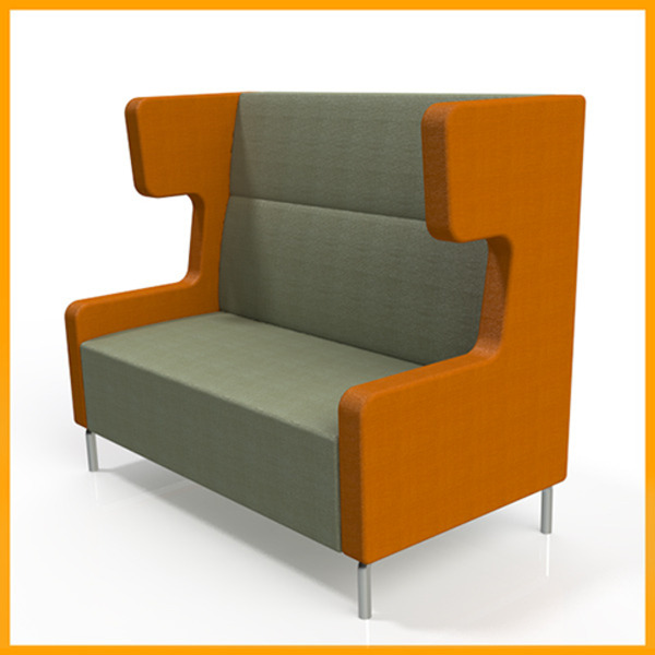 Amee Soft Seating Winged Quite Booth Lounge System