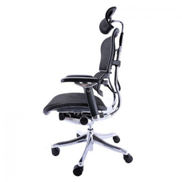 Ergohuman V2 Deluxe Mesh Chair with Headrest & Independent Seat Angle Tilt