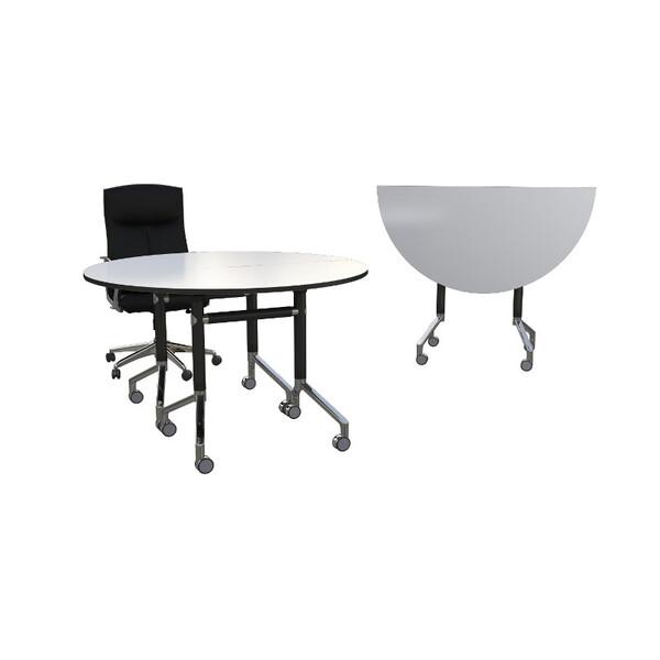 Eiffel Folding Flip Top Table Round - Custom Sizes