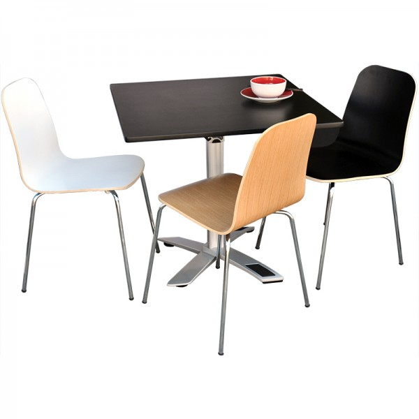 Barry Dining Cafe Timber Chair Visitor Client Chairs
