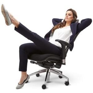 X2 Mesh Ergonomic Executive Task Chair Auto Dynamic Variable Lumber & Optional Head Rest