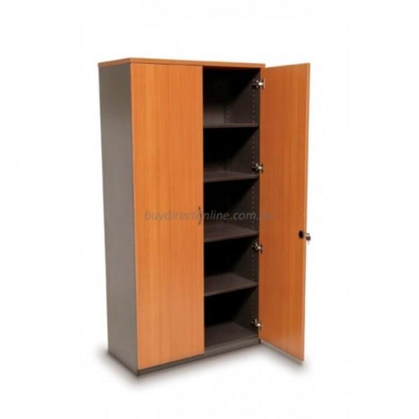 Origo 2 Door Storage Cupboard - 1800 x 900, Lockable Doors