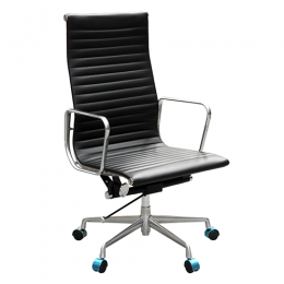 Aero High Back Managers Office Chair in Soft Leather