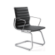 Aero Cantilever Visitor Chair in Leather