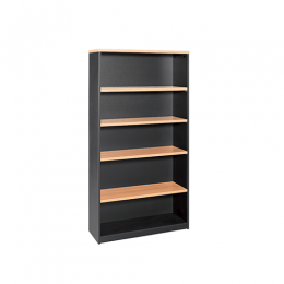 OM Office Bookcase 1200mm Height