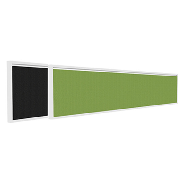 OM Desk Top Partition Screen Dividers With Pin-able Surface