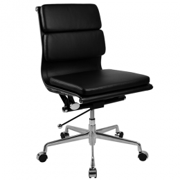 Manta Mid Back Office Chair Without Arms
