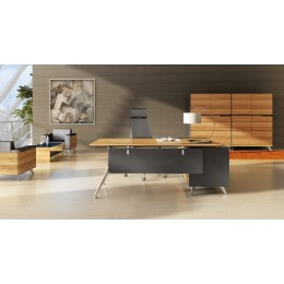 Novara Executive Office Desk With Return