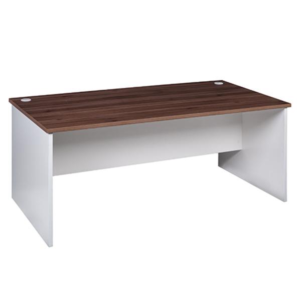 OM Premier Rectangular Office Desk & Loop Chair Combo & Storage Options