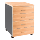 OM Mobile Pedestal 4 Drawers