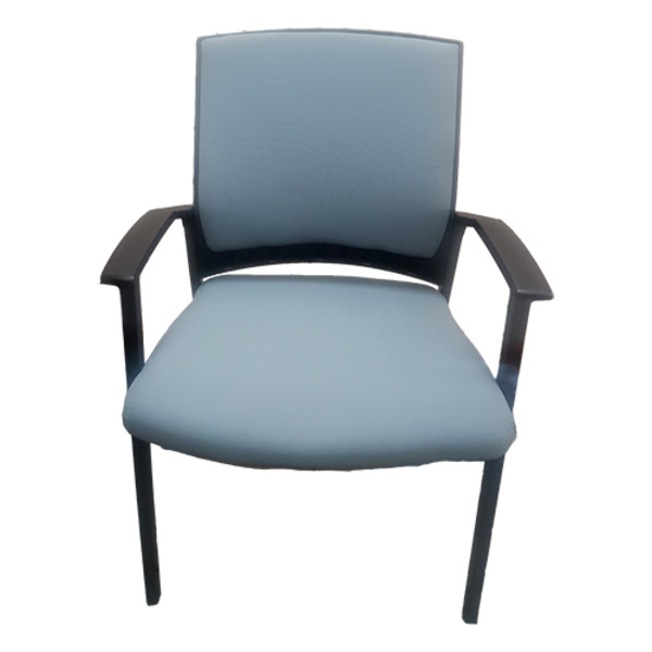 Project X Fully Upholstered Visitor Chair 150kg Weight Rated