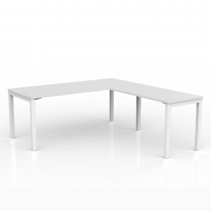 Axis Straightline Office Desk with Return