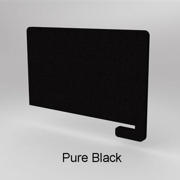 E-Panel Acoustic Partitions Slide On Desk Screen Divider