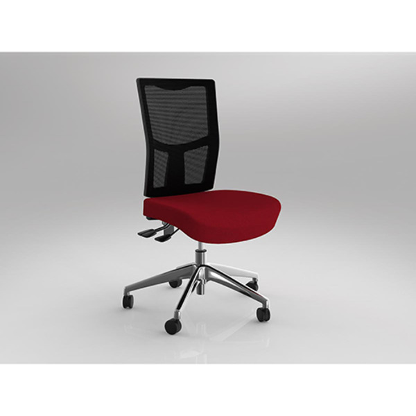Urban Mesh Project Chair Fully Ergonomic Task Seating Alloy Base Optional Arms 160kg Rated